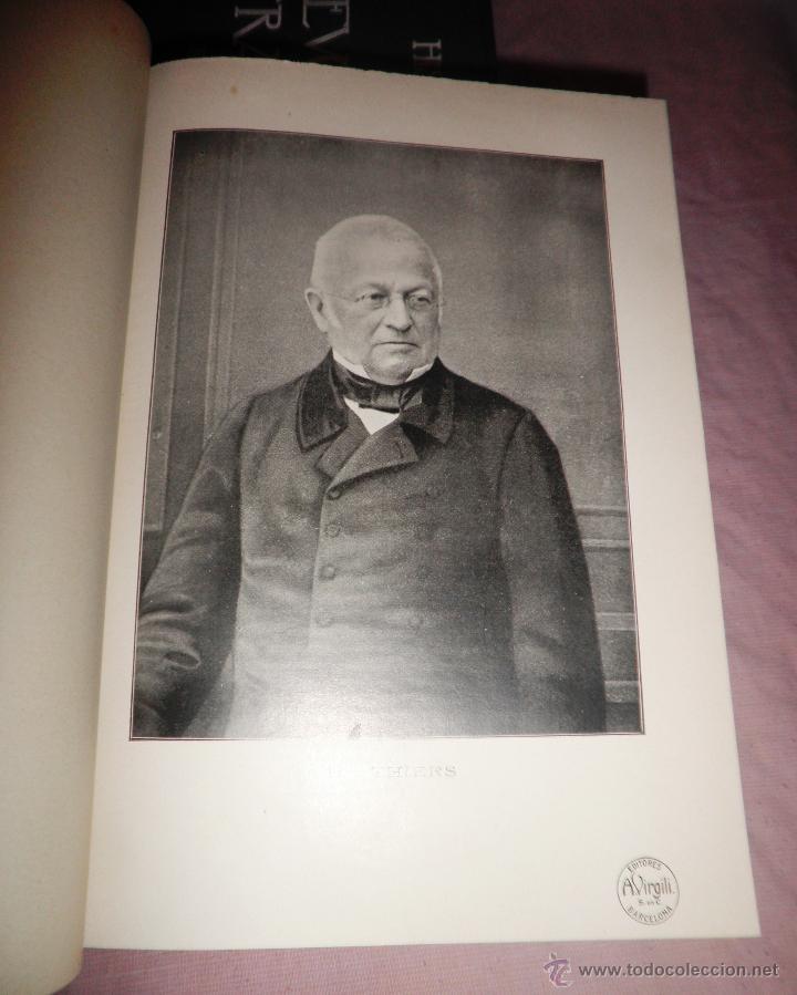 Libros antiguos: HISTORIA DE LA REVOLUCION FRANCESA - THIERS - AÑO 1928 - BELLAS LAMINAS. - Foto 4 - 48055604