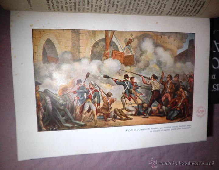 Libros antiguos: HISTORIA DE LA REVOLUCION FRANCESA - THIERS - AÑO 1928 - BELLAS LAMINAS. - Foto 8 - 48055604