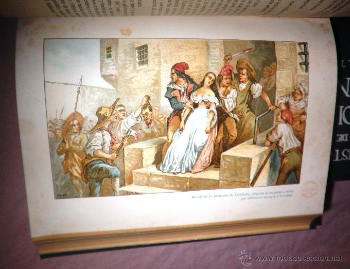 Libros antiguos: HISTORIA DE LA REVOLUCION FRANCESA - THIERS - AÑO 1928 - BELLAS LAMINAS. - Foto 11 - 48055604