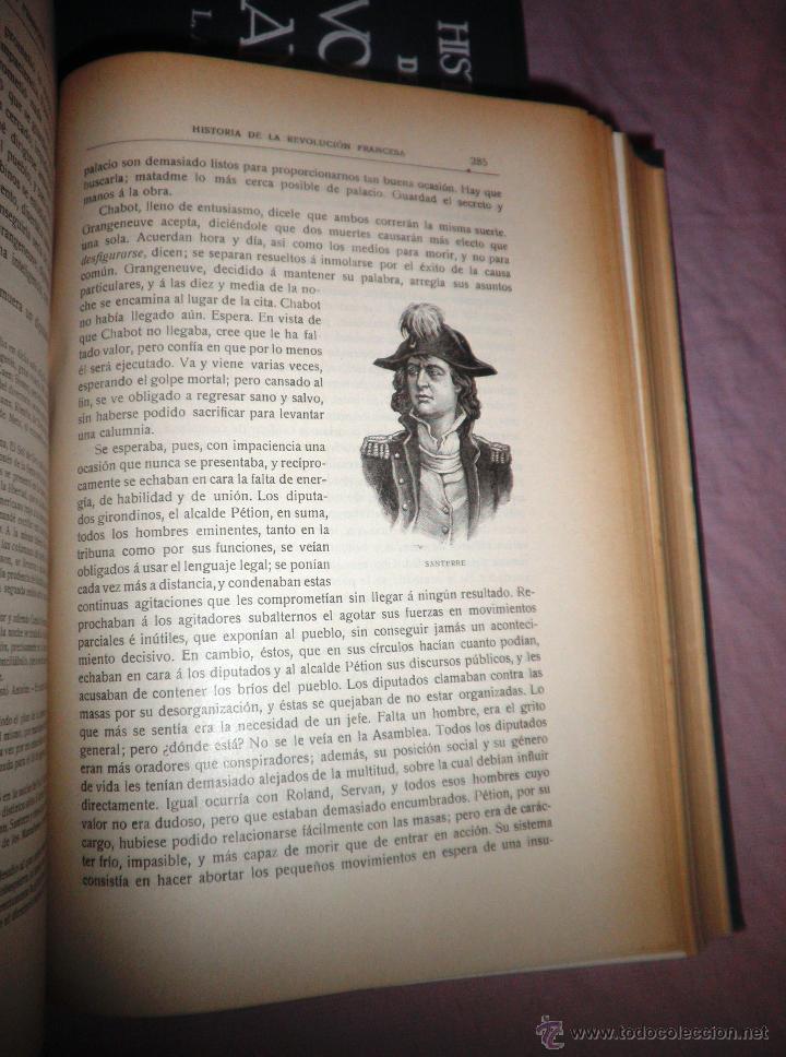 Libros antiguos: HISTORIA DE LA REVOLUCION FRANCESA - THIERS - AÑO 1928 - BELLAS LAMINAS. - Foto 12 - 48055604