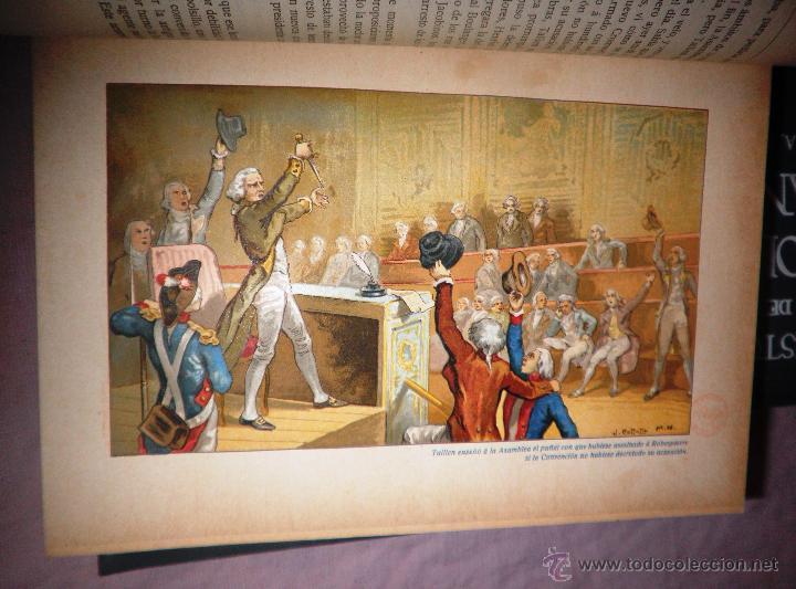Libros antiguos: HISTORIA DE LA REVOLUCION FRANCESA - THIERS - AÑO 1928 - BELLAS LAMINAS. - Foto 13 - 48055604