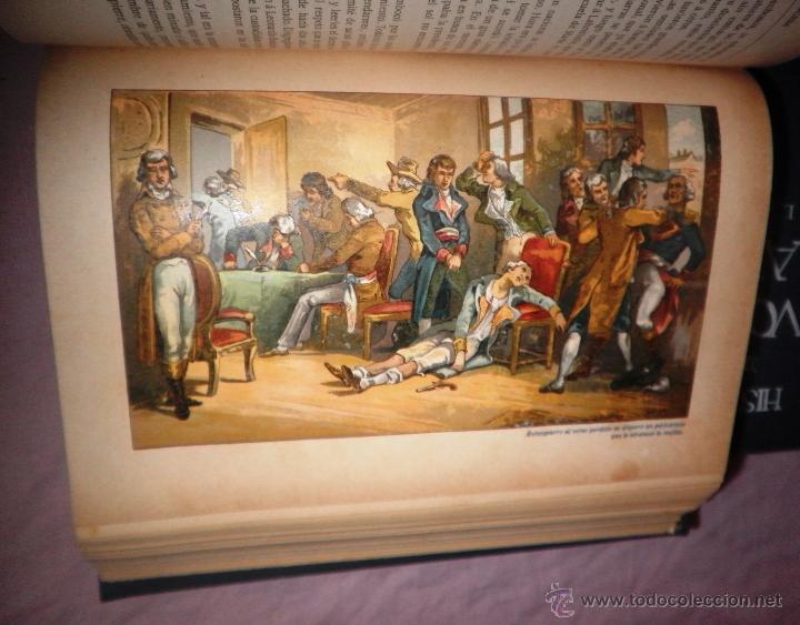 Libros antiguos: HISTORIA DE LA REVOLUCION FRANCESA - THIERS - AÑO 1928 - BELLAS LAMINAS. - Foto 14 - 48055604