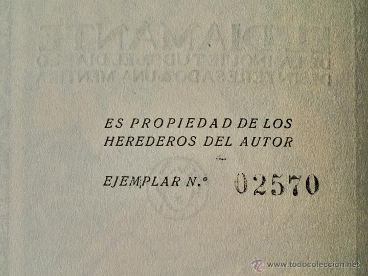 Libros antiguos: OBRAS COMPLETAS DE AMADO NERVO XIV - El diamante de la inquietud - Biblioteca Nueva 1927 - Foto 6 - 48060212