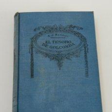 Libros antiguos: EL TESORO DE GOLCONDA. A. J. BARRILI. BIBLIOTECA SOPENA. Lote 48106608