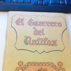 Libros antiguos: EL GUERRERO DEL ANTIFAZ - TOMO 4 - EDITORA VALENCIANA -VALENCIA. Lote 48107583
