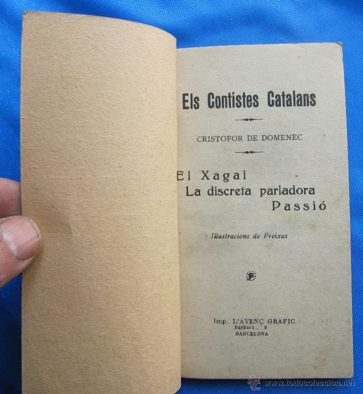 Libros antiguos: ELS CONTISTES CATALANS. CRISTOFOR DE DOMENEC. EL XAGAI, LA DISCRETA... ANY 1, Nº 10. 3 DE MAIG, 1924 - Foto 2 - 48126691