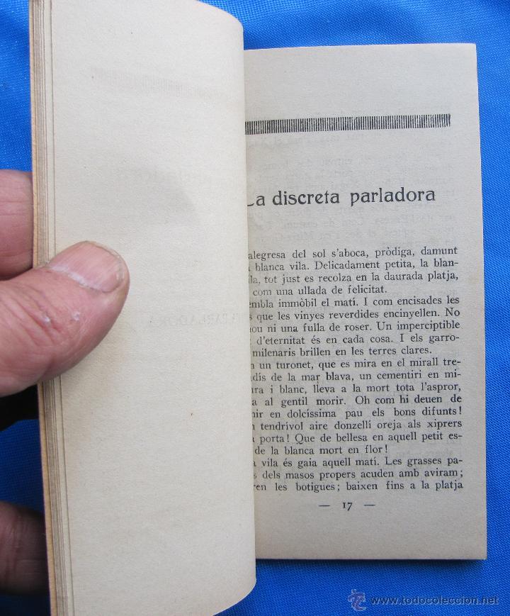 Libros antiguos: ELS CONTISTES CATALANS. CRISTOFOR DE DOMENEC. EL XAGAI, LA DISCRETA... ANY 1, Nº 10. 3 DE MAIG, 1924 - Foto 4 - 48126691