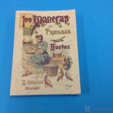 Libros antiguos: 100 MANERAS DE PREPARAR HUEVOS. Lote 48134953