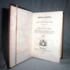 Libros antiguos: EMPRESAS POLITICAS·PRINCIPE POLITICO - AÑO 1845 - SAAVEDRA FAJARDO - ILUSTRADO.. Lote 48165640