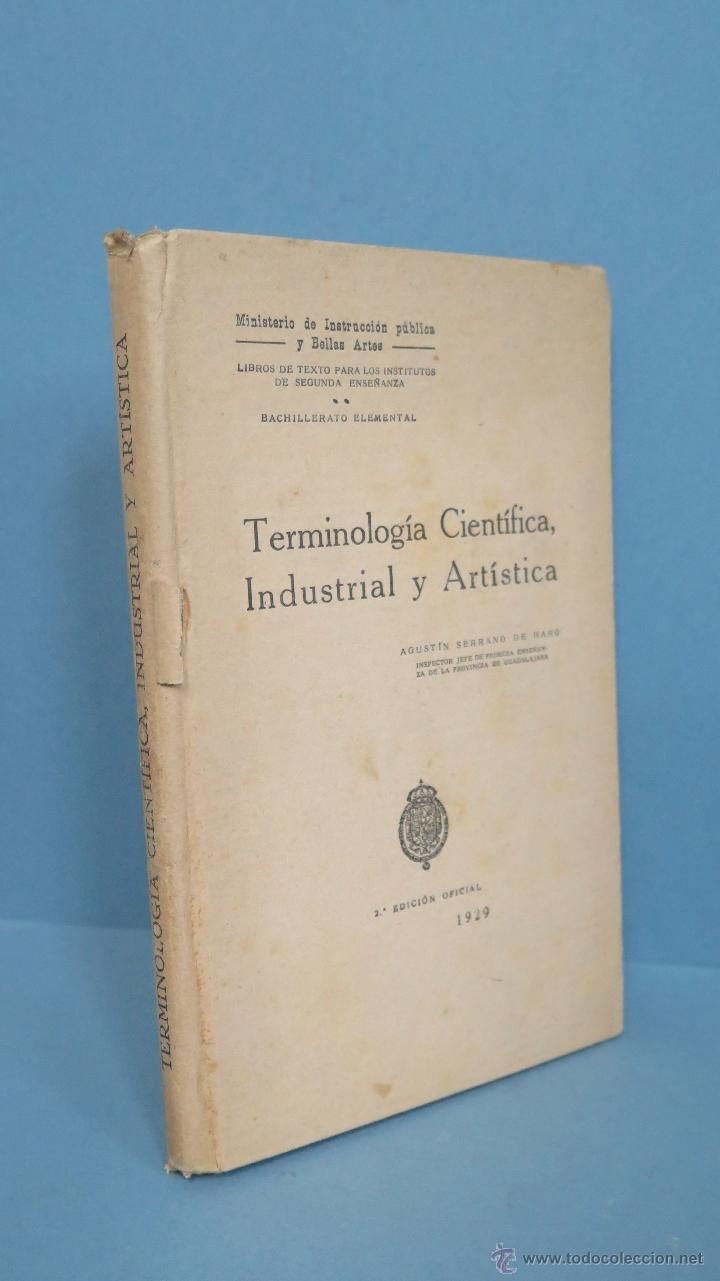 1929 Terminología Científica Industrial Y Ar Comprar En