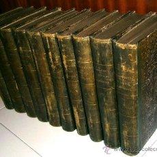 Libros antiguos: HISTORIA UNIVERSAL 10T POR CÉSAR CANTÚ DE IMPRENTA DE GASPAR Y ROIG EN MADRID 1866. Lote 41020923