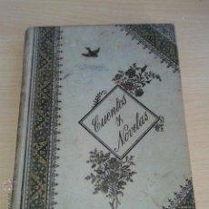 Libros antiguos: ANTIGUO LIBRO CUENTOS Y NOVELAS DE PROSPERO MERIMEE FINALES DEL SIGLO XIX ORIGINAL. Lote 48308656