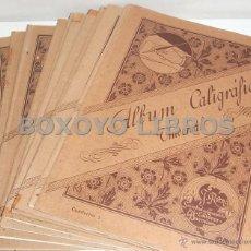 Libros antiguos: ÁLBUM CALIGRÁFICO UNIVERSAL. COLECCIÓN DE MUESTRAS Y EJEMPLOS DE CARACTERES DE ESCRITURA EUROPEOS.... Lote 48419755