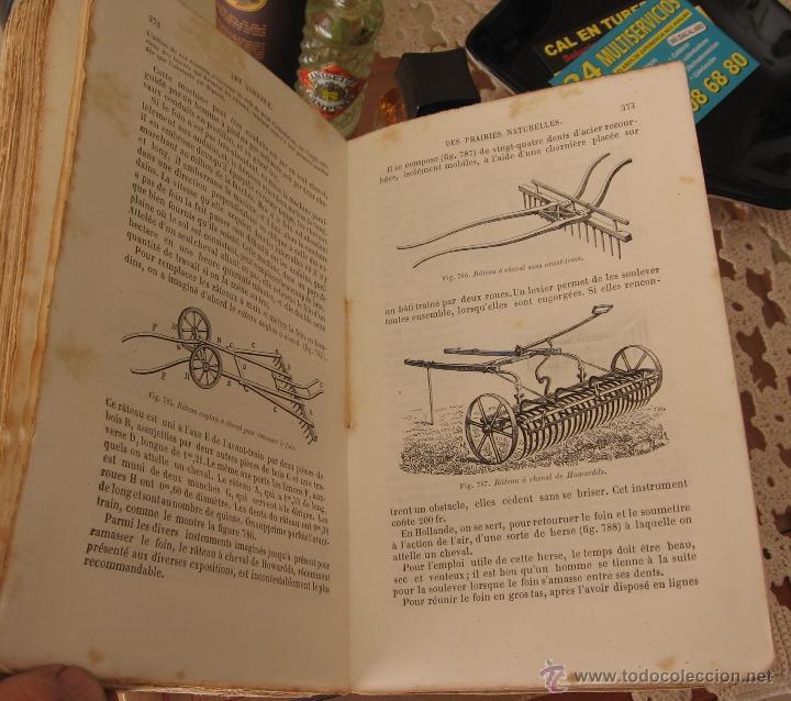 Libros antiguos: TRAITE ELEMENTAIRE D' AGRICULTURE - TOMO II - J. GIRARDIN ET A. DU BREUIL - GARNIER FRERES 1875 - Foto 3 - 48445798