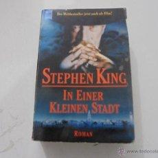 Libros antiguos: STEPHEN KING: 'IN EINER HLEINEN STADT'. Lote 48447159