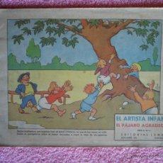 Libros antiguos: EL PÁJARO AGRADECIDO EDITORIAL LUMEN EL ARTISTA INFANTIL 4 SERIE A 2,25 PESETAS. Lote 48461503