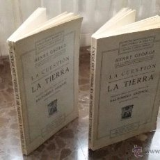 Libros antiguos: 2 LIBROS IGUALES DE 1910. LA CUESTION DE LA TIERRA. BALDOMERO ARGENTE. SEGUNDA EDICIÓN CORREGIDA. Lote 48461648