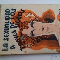 Libros antiguos: LA SEXUALIDAD A TRAVÉS DE LOS SIGLOS - JOSÉ M. HUERTAS Y VENTOSA - EL LIBRO PROHIBIDO BARCELONA 1931. Lote 48481356