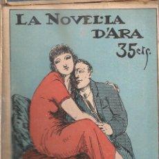 Livres anciens: LA FI DEL LLIURE / CARME KARR; DIB. A. RIBA. LA NOVEL·LA D'ARA Nº 77 DES. 1924. 15X11CM. 56 P.. Lote 48503523