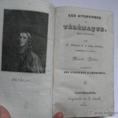 Libros antiguos: LES AVENTURES DE TEÉLÉMAQUE, FILS D ´ULISES -LIVRE PREMIER. Lote 48514919