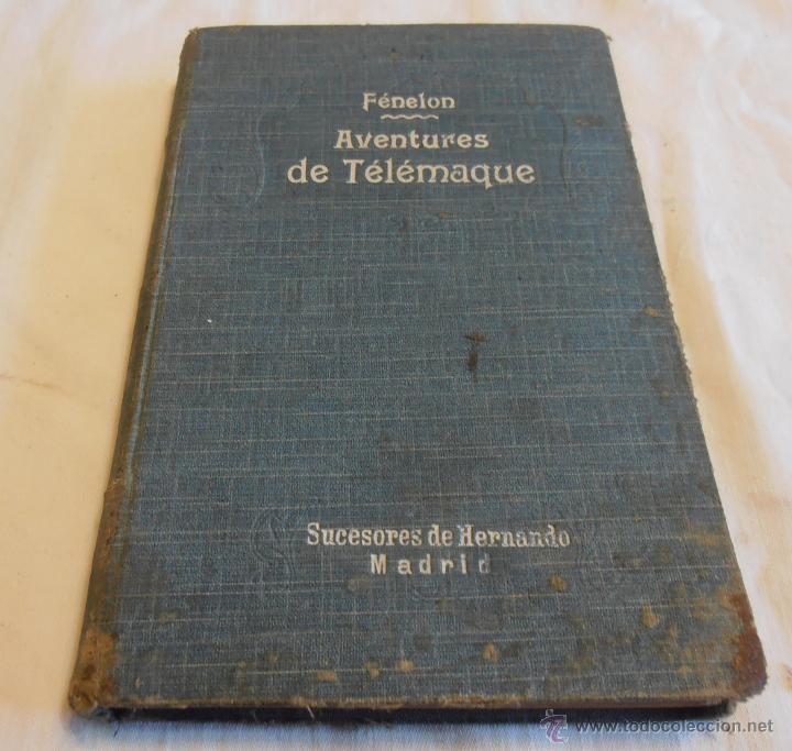 FÉNELON, AVENTURES DE TELÉMAQUE (Libros Antiguos, Raros y Curiosos - Otros Idiomas)
