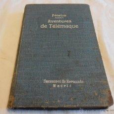 Libros antiguos: FÉNELON, AVENTURES DE TELÉMAQUE. Lote 48525501