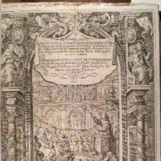 Libros antiguos: TORQUEMADA, JUAN DE: LOS VEINTE I UN LIBROS RITUALES I MONARCHIA INDIANA. 3 VOLS. 1723. Lote 48551103