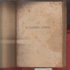 Libros antiguos: EL COCINERO ESPAÑOL-MANUAL DE COCINA ECONOMICA-POR R.M.B.-LIB. DE LA VIUDA DE R.-1921-VALENCIA-LE800. Lote 48551120