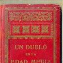 Libros antiguos: PEDRO UMBERT : UN DUELO EN LA EDAD MEDIA (HENRICH, 1911). Lote 48654838