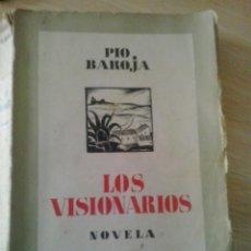 Livres anciens: LOS VISIONARIOS-PIO BAROJA-1937. Lote 48694194