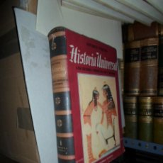 Libros antiguos: JACQUES PIRENNE, HISTORIA UNIVERSAL, LAS GRANDES CORRIENTES DE LA HISTORIA, ED. EXITO, TOMO I. Lote 48706647