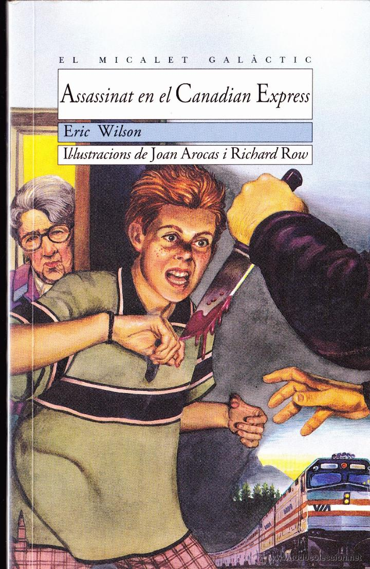 LIBRO ··LIBRO EN VALENCIANO .. ASSASSINAT EN EL CANADIAN EXPRESS . (Libros Antiguos, Raros y Curiosos - Literatura Infantil y Juvenil - Otros)