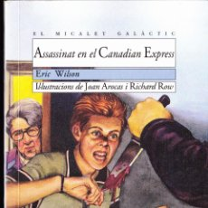 Libros antiguos: LIBRO ··LIBRO EN VALENCIANO .. ASSASSINAT EN EL CANADIAN EXPRESS .. Lote 104802051