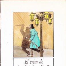 Libros antiguos: LIBRO ··LIBRO EN VALENCIANO .. EL CRIM DE LORD ARTHUR SAVILE , EL FANTASMA DE CANTERVILLE .. Lote 48714049
