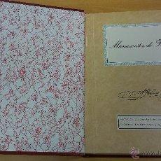 Libros antiguos: LIBRO MANUSCRITOS DE FRANCO. Lote 48730895