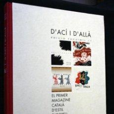 Libros antiguos: D ACI I D ALLA . EL PRIMER MAGAZINE CATALÀ D ESTIL EUROPEU. 1932 / 1933. Lote 48737868