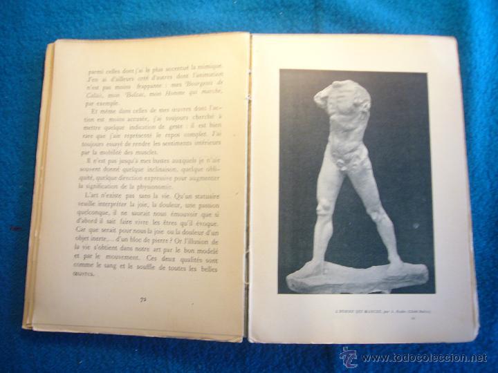 Libros antiguos: AUGUSTE RODIN: - LART. ENTRETIENS REUNIS PAR PAUL GSELL - (PARIS, 1912) (PRIMERA EDICION) - Foto 3 - 48851315