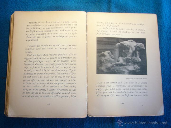 Libros antiguos: AUGUSTE RODIN: - LART. ENTRETIENS REUNIS PAR PAUL GSELL - (PARIS, 1912) (PRIMERA EDICION) - Foto 4 - 48851315