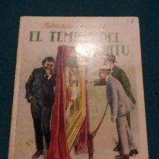 Libros antiguos: EL TEMPLE DEL ESPÍRITU - BIBLIOTECA INFANTIL - EDITORIAL RAMON SOPENA 1933 - ILUSTRADO. Lote 48880187