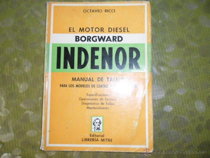 el motor diesel borgward indenor manual de tall comprar en rh todocoleccion net Motor Repair Manuals Mitchell Motor Manuals