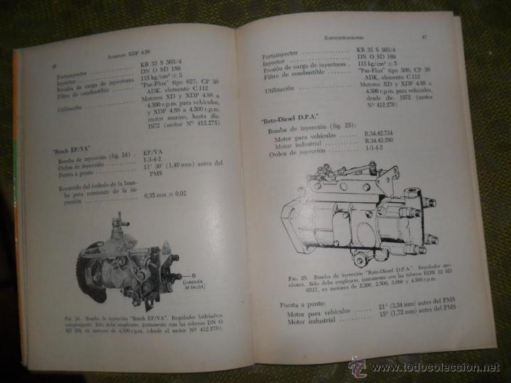 el motor diesel borgward indenor manual de tall comprar en rh todocoleccion net Manual Motor Starter Wiring Diagram ABB Manual Motor