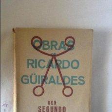 Libros antiguos: OBRAS DE RICARDO GUIRALDES DON SEGUNDO SOMBRA 1930. Lote 48941479