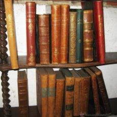 Libros antiguos: GRAN LOTE 9 LIBROS ANTIGUOS EN ALEMAN 1880-1910 DECORACION ESTANTERIAS LIBRERIAS FOTOGRAFIA ESCENA. Lote 48950194