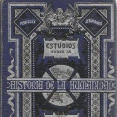 Libros antiguos: F. LAURENT. ESTUDIOS SOBRE LA HISTORIA DE LA HUMANIDAD. TOMO I.- EL ORIENTE. RM68781. . Lote 48990940