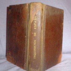 Libros antiguos: MISTERIOS DE LA INQUISICION EN ESPAÑA - AÑO 1920 - FEREAL - ILUSTRADO.. Lote 49017182