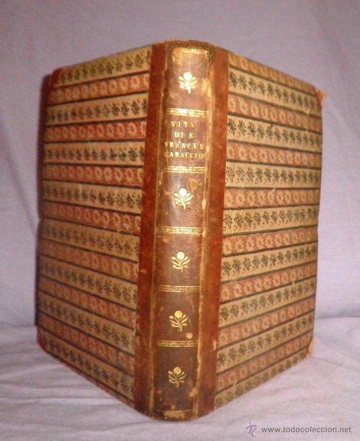 COMPENDIO STORICO DELLA VITA DI F.CARACCIOLO - AÑO 1805 - IN 4º. (Libros Antiguos, Raros y Curiosos - Historia - Otros)
