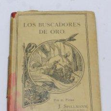 Libros antiguos: LOS BUSCADORES DE ORO. RELACION DE LAS MISIONES DE ALASKA. FRIBURGO DE BRISGOVIA, POR SPILLMANN, JOS. Lote 49024918
