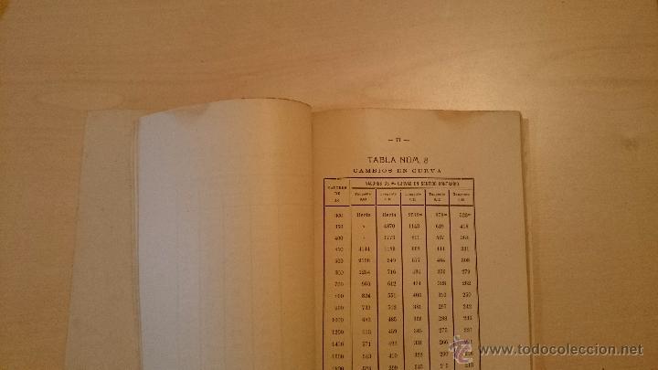 Libros antiguos: MANUAL PRACTICO DEL CAPATAZ Y ASENTADOR DE VÍA - TEXTO + ATLAS - TRENES - Cáceres 1917 - Foto 4 - 48327220
