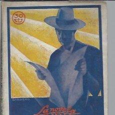 Libros antiguos: LOS HOMBRES DE HIERRO, CRISTOBAL DE CASTRO,LA NOVELA MUNDIAL AÑO II 8 DICIEMBRE MADRID 1927 Nº 91. Lote 75692921