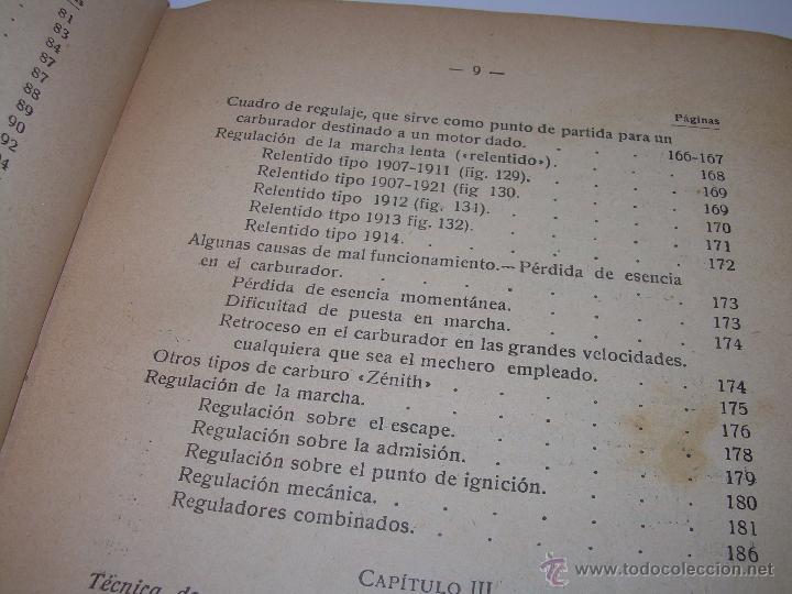 Libros antiguos: LIBRO..COMO SE CONDUCE Y MANEJA UN AUTOMOVIL..MANUAL DEL CHAUFFEUR...AÑO..1.922..CON MUCHOS GRABADOS - Foto 9 - 49073807
